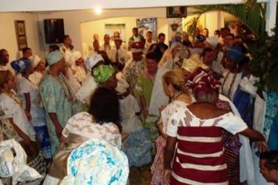 Em grande festa Ògún e celebrado em São Paulo