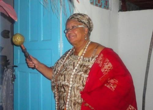 A última quarta-feira de 2011 foi dedicada em agradecimentos á Xangô