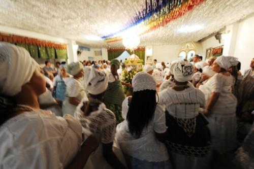 Patrono da Casa de Oxumarê é celebrado com grande festa