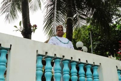 Baba Pecê discursa sobre a importância da afirmação religiosa