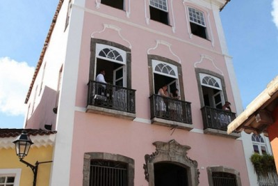 Babá Pecê dá a benção e as boas vindas à Representação do Ministério da Cultura na Bahia