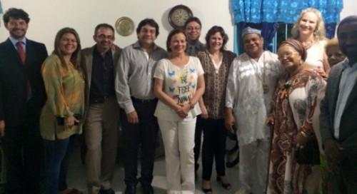 Grupo Nacional de Direitos Humanos (GNDH) visita a Casa de Oxumarê